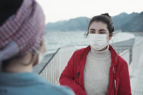 Tips for communicating with face masks and social distancing
