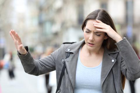 Woman with vertigo from Meniere's disease I Broadmead Hearing