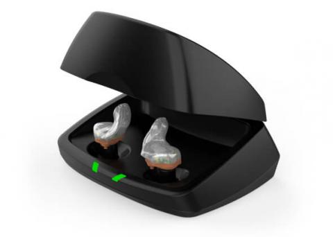 Rechargeable hearing aid Starkey Livio